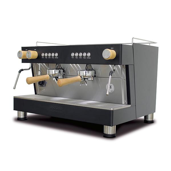 Cafetera profesional dos grupos
