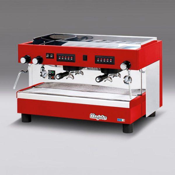 Cafetera profesional MagisterHRC 100 2 G ROJA