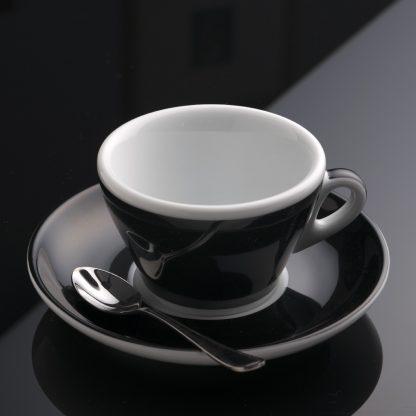 taza para café capuccino bicolor