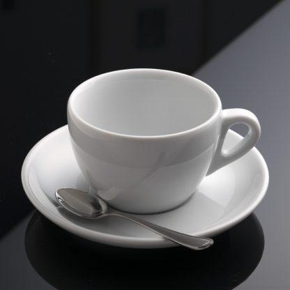 taza de café capuccino