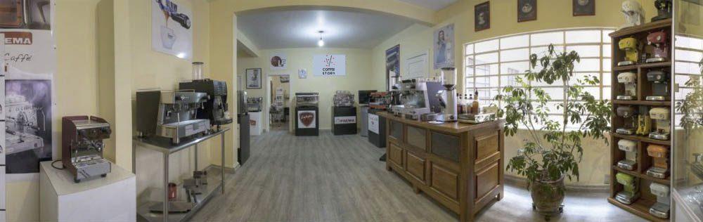 showroom coffee story